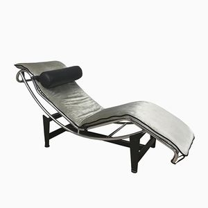 Art Deco Chaise Lounge, 1930s