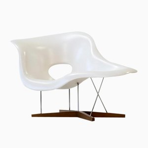 Vintage La Chaise by Eames for Vitra