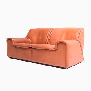 1010 Sofa aus Nackenleder von de Sede, 1980er