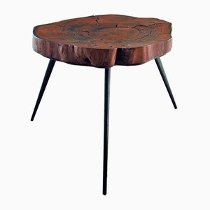 Tree Trunk Coffee Table, 1950s