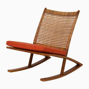 Mid-Century Rocking Chair by Fredrik A. Kayser