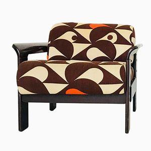 Vintage Scandinavian Style Armchair by Silvano Passi