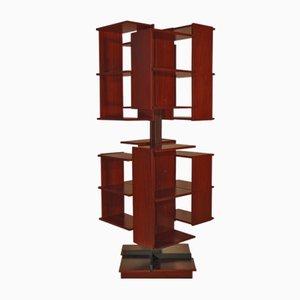 Centro Rotating Bookshelf by Claudio Salocchi for Sormani, 1970s