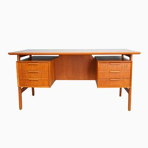 Teak Model 75 Desk from Omann Jun