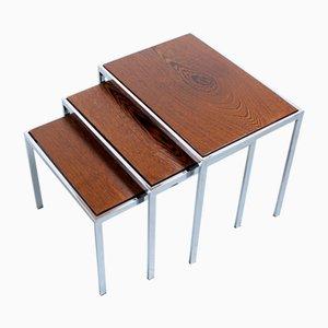 Satztische mit doppelseitigen Tischplatten von Cees Braakman für Pastoe, 1960er