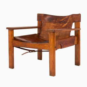 Mid-Century Danish Armchair by Bernt Petersen, 1970s