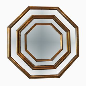 Brass Mirror by Dubarry, 1970s