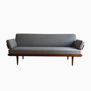 Mid Century-Minerva Sofa Daybed in Teak by Peter Hvidt for France & Søn