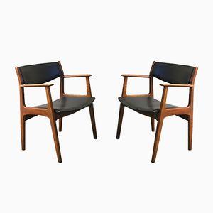Mid-Century Armchairs from Soro Stolefabrik, 1960s, Set of 2