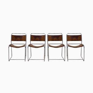 SE18 Esszimmerstühle von Claire Bataille & Paul Ibens für 't Spectrum, 1971, 4er Set