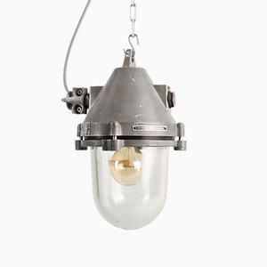 Lampada a sospensione 51114 industriale di Elektrosvit, anni '50