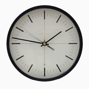 Reloj de pared polaco industrial de Metron, años 60
