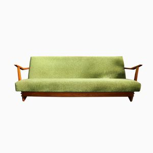 Vintage Moss Green Sofa Daybed, 1960s