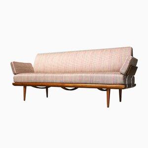Sofá cama Minerva de Peter Hvidt & Orla Mølgaard-Nielsen para France & Daverkosen, años 50