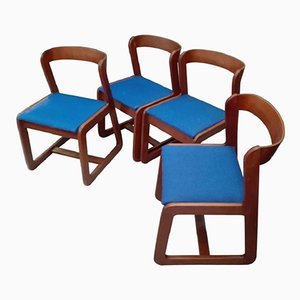 Dining Chairs by Willy Rizzo for Mario Sabot, 1970s, Set of 4