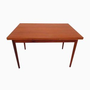 Danish Teak Extendable Dining Table, 1960s