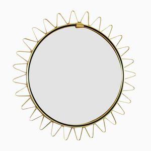 Vintage Convex Witch's Eye Mirror