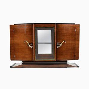 Französisches Art Deco Mahagoni Buffet, 1930er