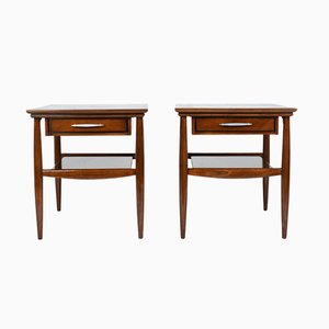 Mid-Century Modern Side Tables, Set of 2