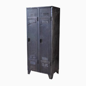 Mid-Century Two-Door Steel Locker, 1950s
