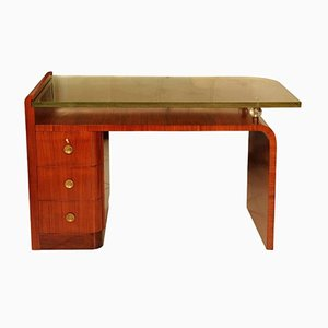 Rosewood Desk by Jacques Adnet, 1930s