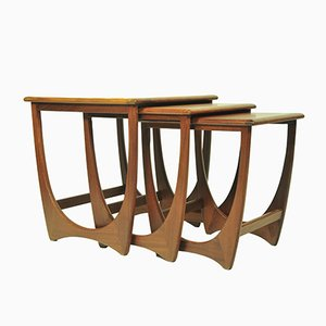 Mid-Century Teak Astro Nesting Tables from G-Plan