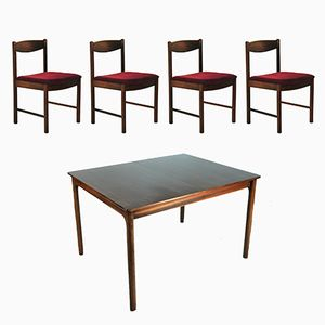 Rosewood Dining Set from McIntosh, 1960s