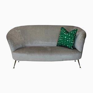 Mid-Century Curved Sofa by Ico & Luisa Parisi