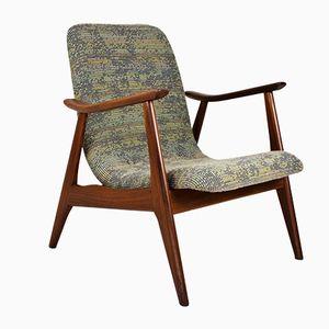 Mid-Century Teak Armchair by Louis Van Teeffelen for Webe, 1960s