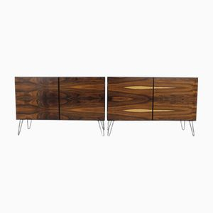 Mid-Century Rosewood Sideboards from Omann Jun, Set of 2