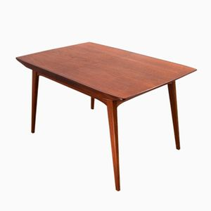 Mid-Century Modern Teak Dining Table by Louis van Teeffelen for WeBe, 1960s
