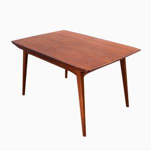 Table de Salle à Manger Moderne Mid-Century en Teck par Louis van Teeffelen pour WeBe, 1960s