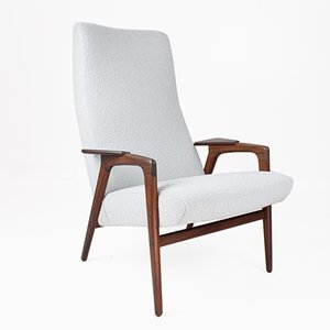 Mid-Century Scandinavian Ruster Lounge Chair by Yngve Ekstrom for Pastoe, 1960s