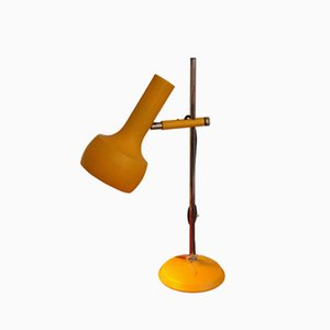 Vintage Yellow Table Lamp