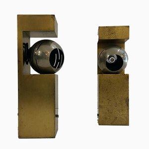 Tischlampen von Angelo Lelli für Arredoluce, 1960er, 2er Set