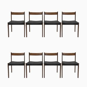 Vintage Dining Chairs, Set of 8