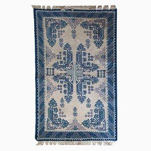 Handgewobener Tunesischer Vintage Teppich, 1960er