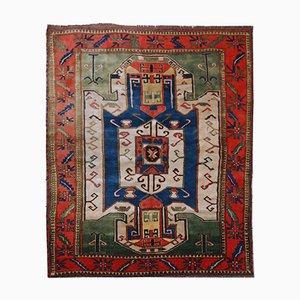 Handgefertigter Kaukasischer Kazak Teppich, 1960er