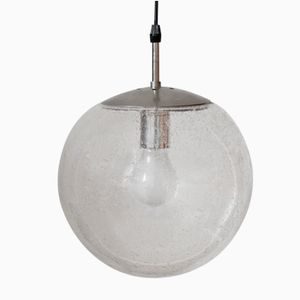 Space Age Glass Pendant, 1960s