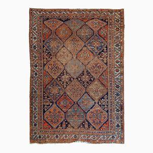 Antiker Handgefertigter Persische Afshar Teppich, 1900er