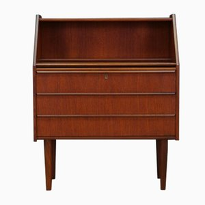 Mid-Century Danish Teak Secretaire from Hanbjerg