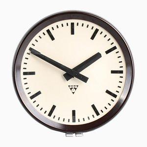 Horloge Industrielle P 273 de Pragotron, 1970s