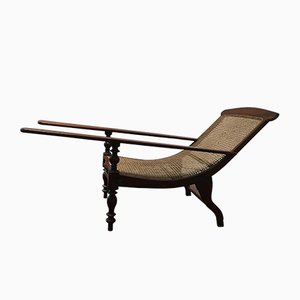 Antique Indian Meditation Chaise Lounge