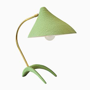Lampada da tavolo verde di Louis Kalff per Philips, anni '50