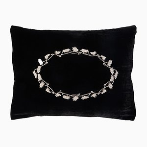 Louvre Black Pillow by Jackie Villevoye for Jupe by Jackie