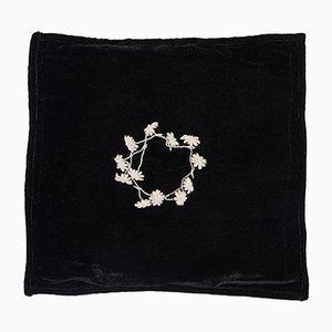 Cuscino Louvre nero di Jackie Villevoye per Jupe by Jackie