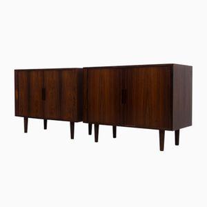 Petites Enfilades en Palissandre par Kai Kristiansen pour F M Furniture, Danemark, 1960s, Set de 2