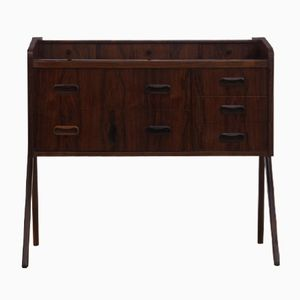 Small Danish Rosewood Storage Console, 1960s