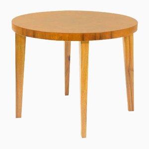 Walnut-Veneered Coffee Table, 1920s