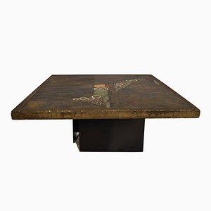 Brutalist Coffee or Side Table by Paul Kingma, 1979